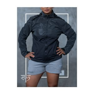 WomensReflective Wind and Water Resistant Jacket